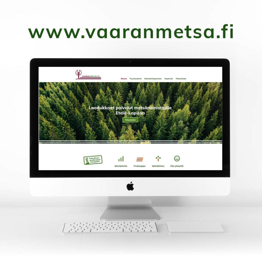 Nettisivujen suunnittelu, mainostoimisto Lappi design, Rovaniemi